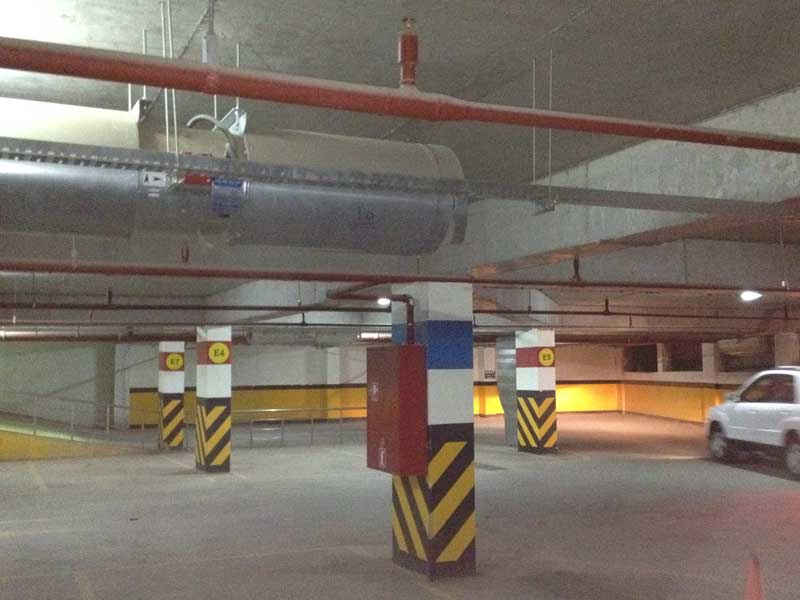 Family Mall Cinema 3 floor Car Parking  Garage  (Darin Group)